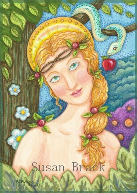Art: EVE by Artist Susan Brack