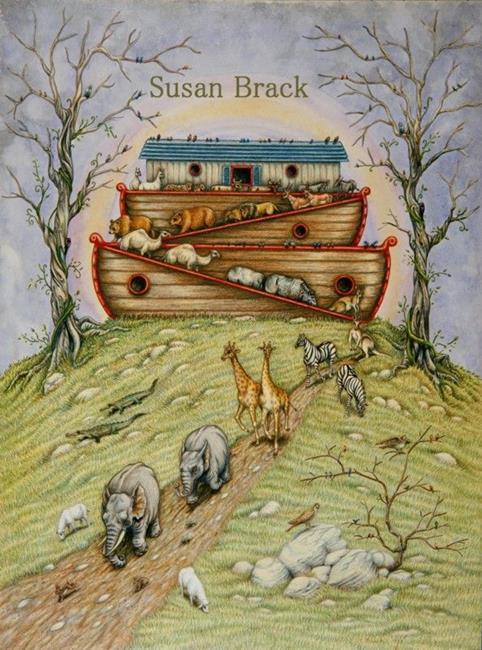 Art: THE PROMISE by Artist Susan Brack