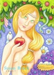 Art: EVE'S GARDEN by Artist Susan Brack
