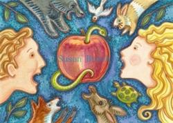 Art: TEMPTATION FOR GREAT AND SMALL by Artist Susan Brack