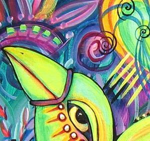 Detail Image for art Trin's Love Bird 7744