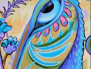 Detail Image for art Wild Pelican #1324
