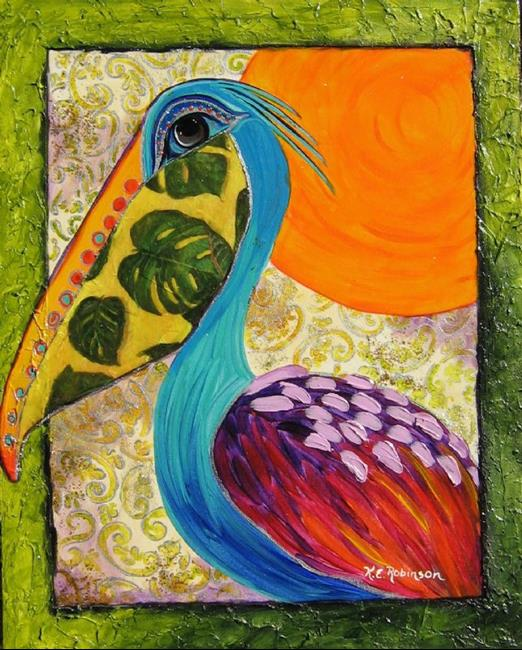 Art: Pelican #7830 by Artist Ke Robinson
