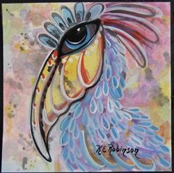 Art: Wild Pelicans! #764 by Artist Ke Robinson