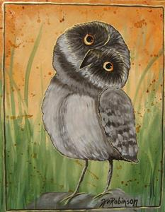 Detail Image for art Baby Owls by KeROBinson