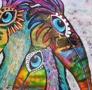 Detail Image for art Wild Pelican #0310 18x24