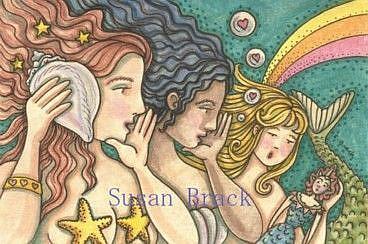 Art: PASS IT ON by Artist Susan Brack