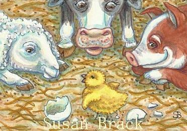 Art: WELCOME COMMITEE by Artist Susan Brack