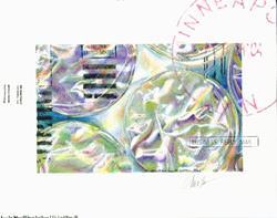 Art: The Zen of Junk Mail in Bubblewrap by Artist Alma Lee