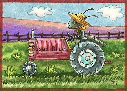 Art: ANT FARM by Artist Susan Brack