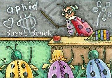 Art: BUG BIOLOGY by Artist Susan Brack