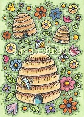 Art: HONEY ACRES by Artist Susan Brack