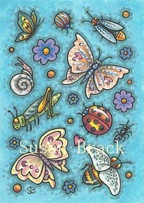Art: IT'S A SMALL WORLD by Artist Susan Brack
