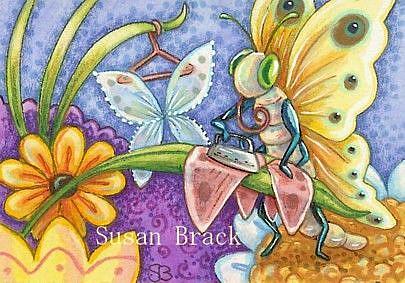 Art: WRINKLE FREE by Artist Susan Brack