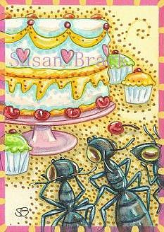 Art: SUGAR RUSH by Artist Susan Brack