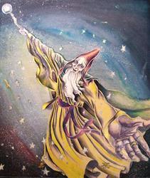 Art: Grand Gestures by Artist Madeline  Carol Matz