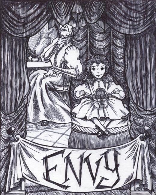 Art: Envy by Artist Madeline  Carol Matz