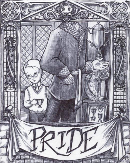 Art: Pride by Artist Madeline  Carol Matz