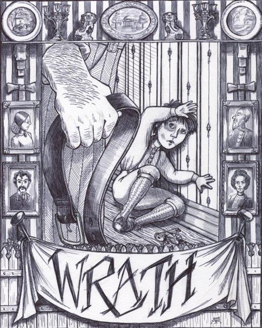 Art: Wrath by Artist Madeline  Carol Matz