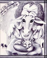 Art: the Ass in the Lion's Skin by Artist Madeline  Carol Matz