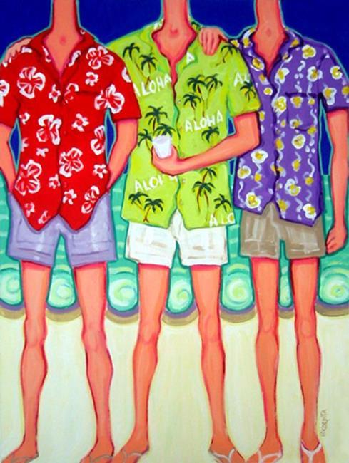Art: Aloha! by Artist Rebecca Stringer Korpita