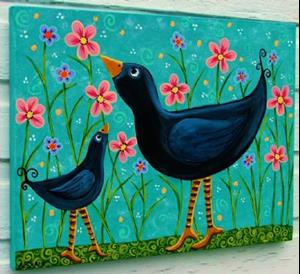 Detail Image for art Birds of a Feather