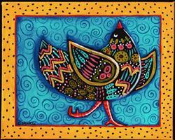 Art: CHIN UP by Artist Cindy Bontempo (GOSHRIN)