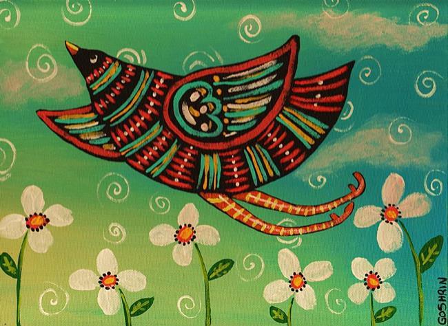Art: Fly Boy by Artist Cindy Bontempo (GOSHRIN)
