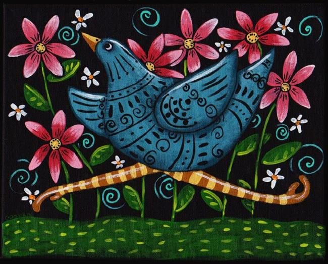 Art: Run Free by Artist Cindy Bontempo (GOSHRIN)