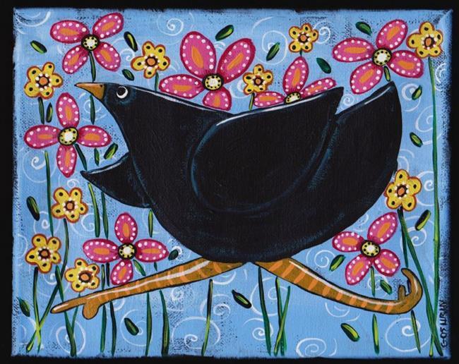 Art: FLY FREE by Artist Cindy Bontempo (GOSHRIN)