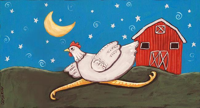 Art: Under The Stars by Artist Cindy Bontempo (GOSHRIN)