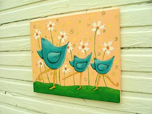 Detail Image for art Bluebirds Of Happiness