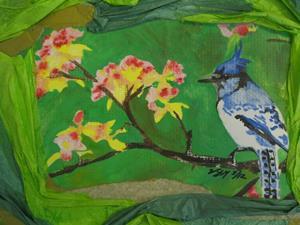 Detail Image for art Blue Jay