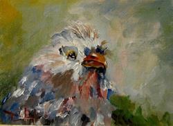 Art: Mellow Bird by Artist Delilah Smith