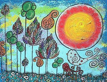 Art: Wonderful Choices by Artist Juli Cady Ryan