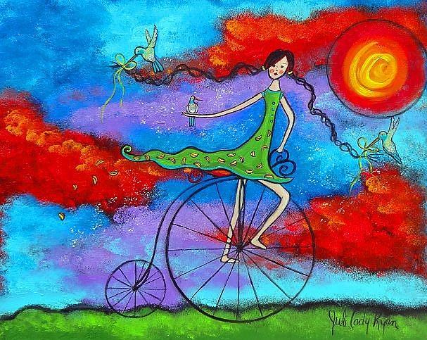 Art: The Magical Ride II by Artist Juli Cady Ryan