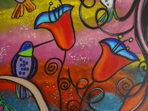 Detail Image for art For The Love Of Hummingbirds