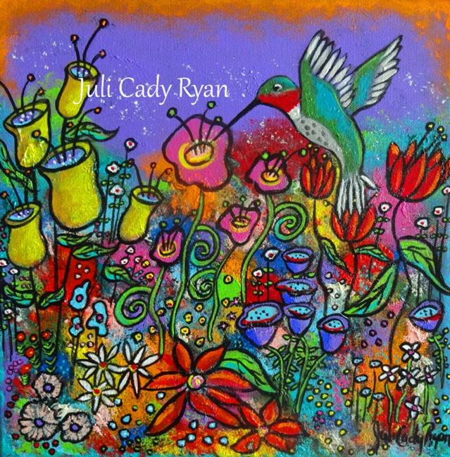 Art: The Tiny Harbinger Of Spring by Artist Juli Cady Ryan