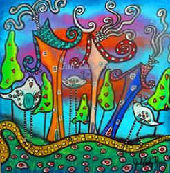 Art: Finding My Own Way by Artist Juli Cady Ryan