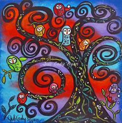 Art: Family Tree by Artist Juli Cady Ryan