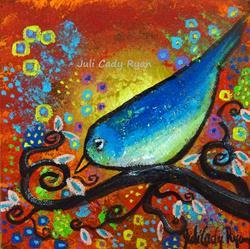 Art: Bird III~Days End by Artist Juli Cady Ryan