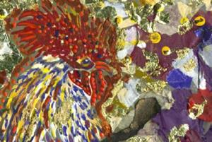 Detail Image for art Rocky Rooster - sold