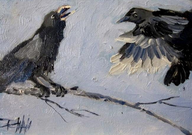 Art: Crow Call by Artist Delilah Smith