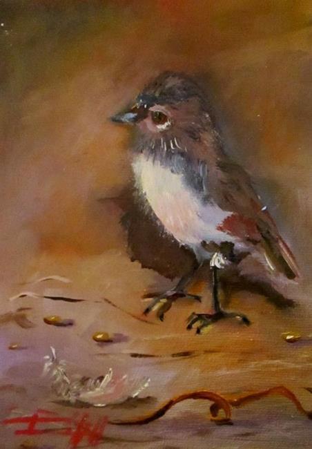 Art: Nest Builder by Artist Delilah Smith