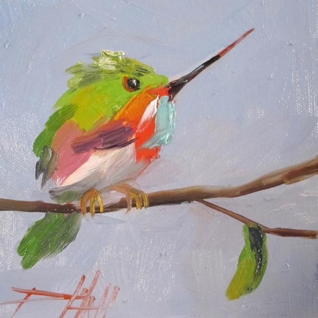 Art: Hummingbird No. 5 by Artist Delilah Smith