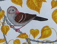 Detail Image for art Sparrow Tapestry (SOLD)