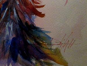 Detail Image for art Oh My Gosh Ostrich