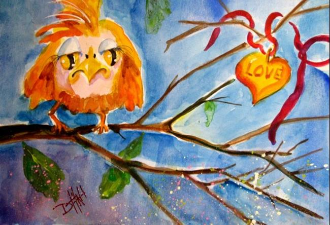 Art: Lost Love No.2 by Artist Delilah Smith