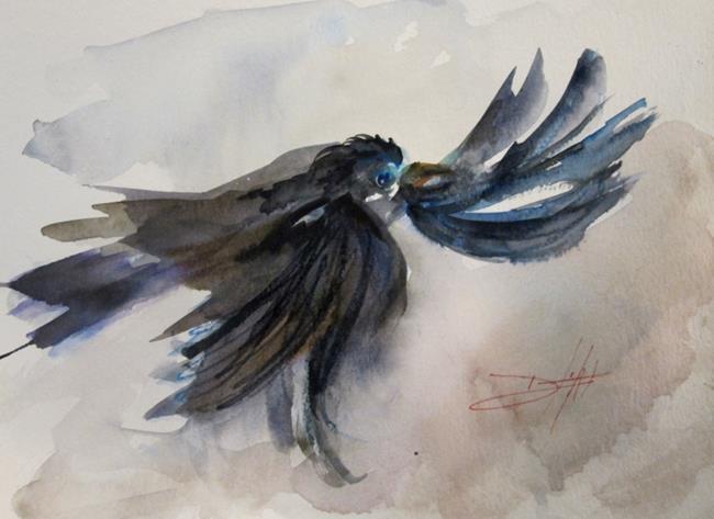Art: Raven by Artist Delilah Smith