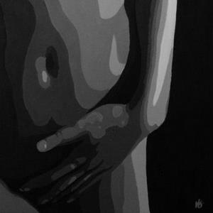 Detail Image for art Black & White Torso #4